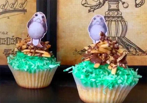 Star Wars Porg Cupcakes