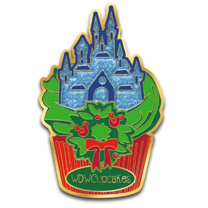 WDWCupcakes Castle Dream Lights Pin