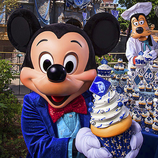 Disneyland Cupcakes Photo Gallery