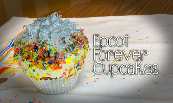 Epcot Forever Cupcakes