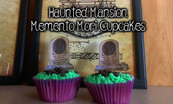 Haunted Mansion Cupcakes