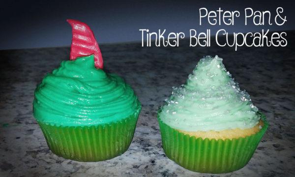 Peter Pan & Tinker Bell Cupcakes