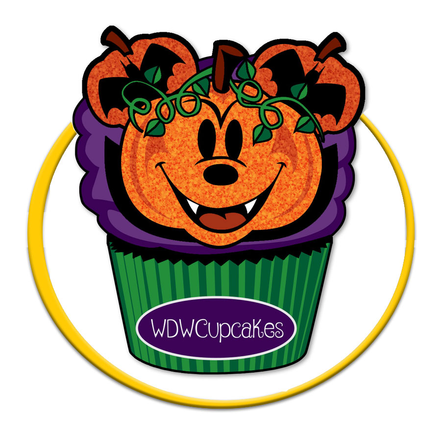 Mickey Halloween Cupcake Pin